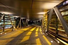 Modern corridor in building Stock Photos