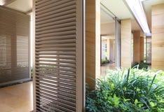 Modern corridor interior modern. Corridor interior Royalty Free Stock Photo