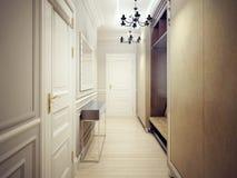 Modern corridor style Stock Images