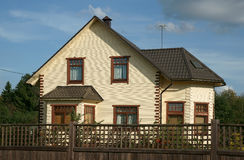 Modern cottage Stock Images