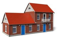 Modern cottage Royalty Free Stock Image