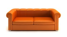 Modern couch Royalty Free Stock Image