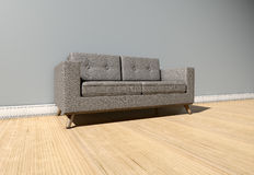 Modern Couch In Room Royalty Free Stock Photography