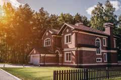 Modern country house Royalty Free Stock Images