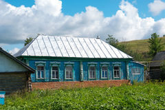 Modern country house in Russia Stock Image