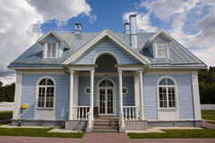 Modern country house Stock Images