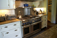 Modern Country Kitchen royalty free stock image