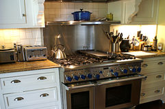 Modern Country Kitchen Royalty Free Stock Images
