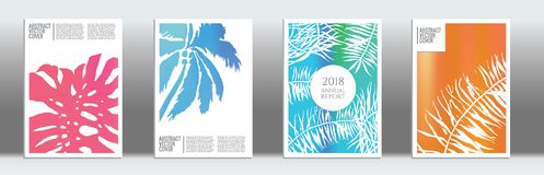 Modern cover template. Cover design mockup. Notebook creative layout. Background for corporate annual report, poster, magazine first page. Minimal leaflet Royalty Free Stock Photo