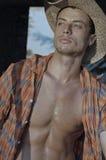 Modern Cowboy Stock Photo