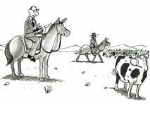 Modern Cowboy Stock Photography