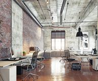 Modern coworking office Royalty Free Stock Images