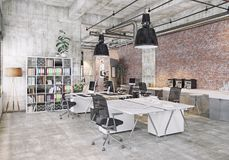 Modern coworking office Royalty Free Stock Image