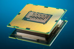 Modern cpu Stock Photos