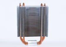 Modern CPU cooler Stock Image
