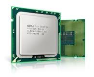 Modern CPUs royalty free illustration