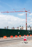 Modern crane Royalty Free Stock Photo
