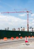 Modern crane Royalty Free Stock Photo
