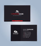 Modern Creative Clean Business Card. Template, Illustration Vector 10 Royalty Free Stock Image