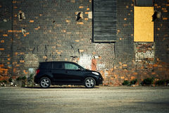 Modern crossover vehicle Royalty Free Stock Photography