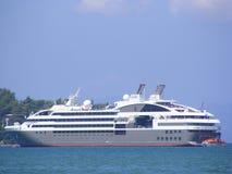Modern Cruise Liner Stock Photo