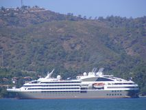 Modern Cruise Liner Royalty Free Stock Photography