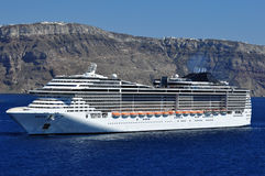 Modern cruise liner Royalty Free Stock Photo