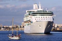 Modern cruise Stock Image