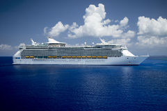 Modern cruise ship Royalty Free Stock Photos