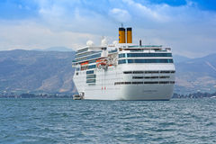 Modern cruise ship Royalty Free Stock Photography
