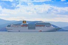 Modern cruise ship Royalty Free Stock Image