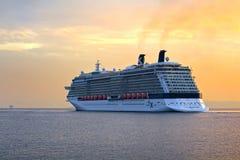 Modern cruise ship Stock Photos