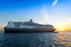 Modern cruise ship Royalty Free Stock Images