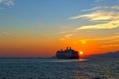 Modern cruise ship Stock Images