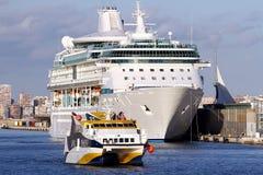 Modern cruise Royalty Free Stock Photos