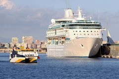 Modern cruise Royalty Free Stock Photography