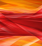 Modern Crystal red and yellow prism background Royalty Free Stock Photography
