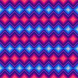 Modern crystal zig zag and rhombus seamless Royalty Free Stock Image