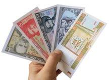 Modern Cuban banknotes. Royalty Free Stock Photography