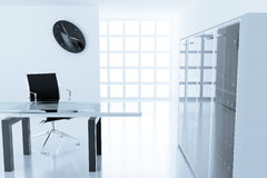 Modern cubicle Royalty Free Stock Photos