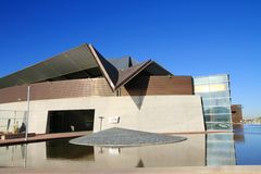 USA, AZ/Tempe: Modern Cultural Center Royalty Free Stock Images
