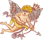 Modern cupid Royalty Free Stock Photo
