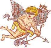 modern cupid stock illustrationer
