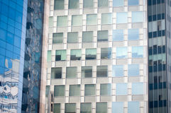 Modern curtain wall Stock Images
