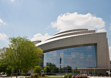 Modern Curved Auditorium royalty free stock image