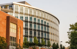 Modern Curved Office Building Royalty Free Stock Photo