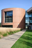 Modern Cylindrical Office or University Building stock photography