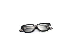 Modern 3D Glasses Royalty Free Stock Photos
