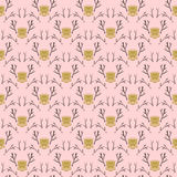 Modern damask pattern in hipster style Stock Photo
