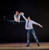 Modern dance: the brothers Royalty Free Stock Photos